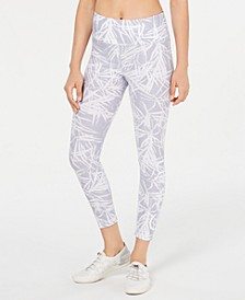 Bamboo-Print High-Rise Leggings