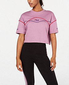Kana Cotton Cropped T-Shirt