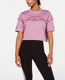 Kana Cotton Cropped T-Shirt