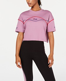 Fila Kana Cotton Cropped T-Shirt