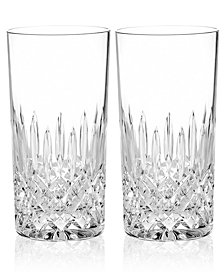 Monique Lhuillier Waterford Drinkware, Set of 2 Arianne Highball Glasses