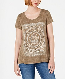 Graphic High-Low Swing Top, Created for Macy's