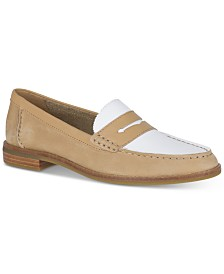 Sperry Women's Seaport Penny Memory-Foam Loafers