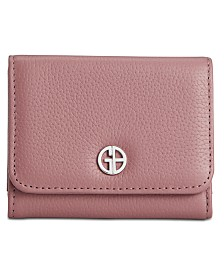 Giani Bernini Softy Leather Trifold Wallet, Created for Macy's