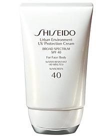 Shiseido Urban Environment UV Protection Cream SPF 40, 1.9 oz