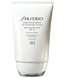 Shiseido Urban Environment UV Protection Cream SPF 40, 1.9 oz
