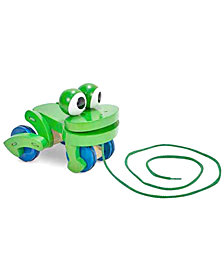 Melissa and Doug Kids Toys, Frolicking Frog Pull Toy
