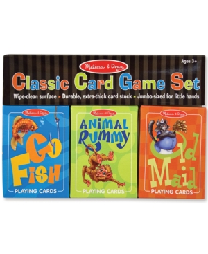Melissa and Doug Kids Toys, Classic Card Game Set