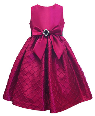 Jayne Coepland Kids Dress, Girls Taffeta Bow Dress ...