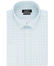 Assorted Men's Slim-Fit Active Stretch Moisture-Wicking Non-Iron Dress Shirts