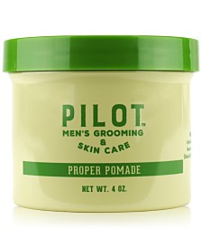 Pilot Men's Grooming & Skin Care Proper Pomade, 4-oz.