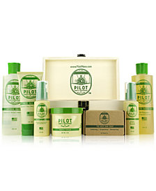 Pilot Men's Grooming & Skin Care 8-Pc. Signature Grooming & Skin Care Set