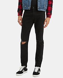 Levi's® Men's 510 Ripped-Knee Skinny Jeans