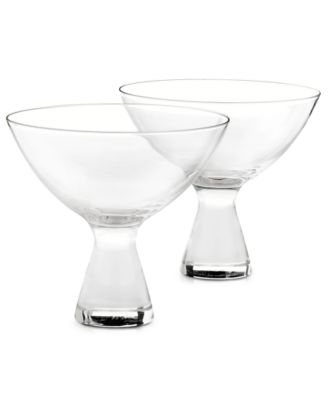 Plateau Martini Glasses, Set of 2, Created for Macy's