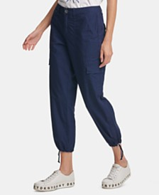 DKNY Cotton Cargo Pants