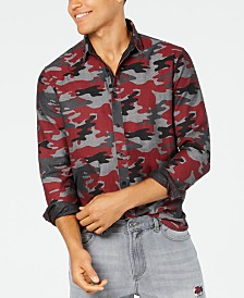 American Rag Men's Camo Shirt