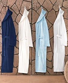 Shawl Collar Turkish Cotton Bathrobe