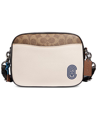Camera Bag In Signature Leather With Patch by General
