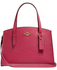 COACH Charlie 28 Carryall In Colorblocked Leather