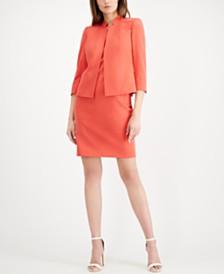 Anne Klein 3/4-Sleeve Blazer & Sheath Dress