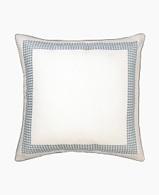 Lillian August Blue Willow Knot Emb Decorative Pillow