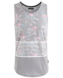 Univibe Men's Amped Graphic Tank