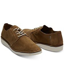 TOMS Men's Preston Suede Lace-Up Shoes