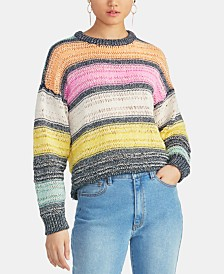 RACHEL Rachel Roy Kai Striped Sweater