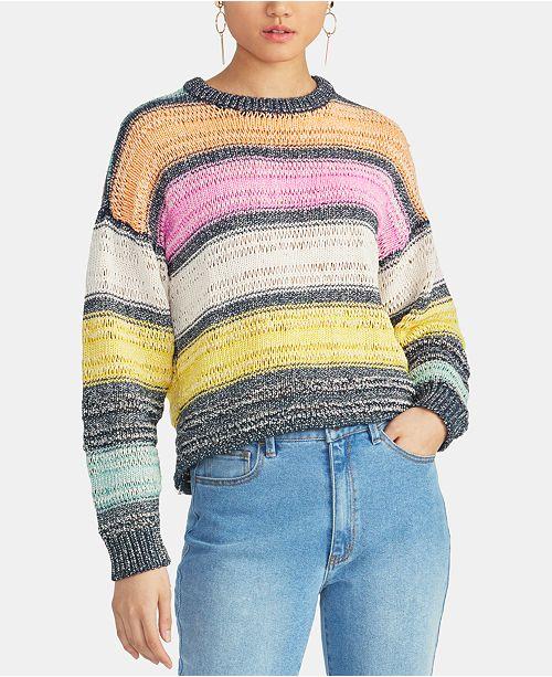 RACHEL Rachel Roy Kai Striped Sweater