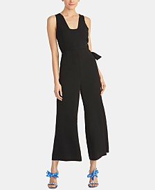 RACHEL Rachel Roy Rua Lace-Up Jumpsuit