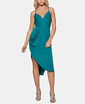782d4b30 BCBGeneration Draped High-Low Midi Dress