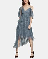2b6a5a4a4051 BCBGMAXAZRIA One-Shoulder Floral-Lace Gown