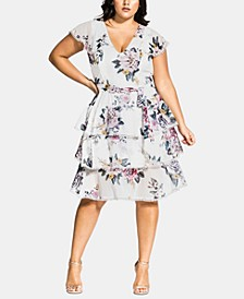 Trendy Plus Size Summer Love Dress