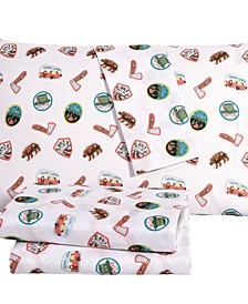 Camper 4 Piece Full Sheet Set