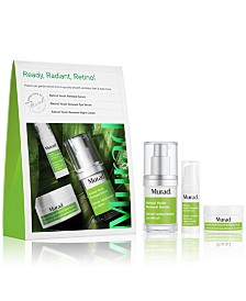 Murad 3-Pc. Ready, Radiant, Retinol Set