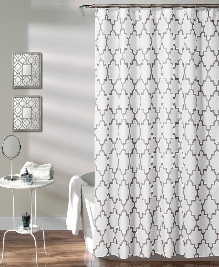 """Lush Décor - Bellagio 72"""" x 72"""" Shower Curtain"""