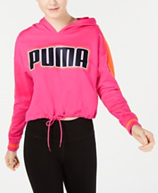 Puma Rebel Reload Cropped Hoodie