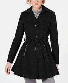 INC Skirted Walker Coat, Created for Macy's