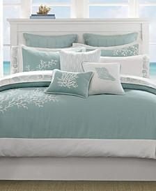 Coastline 4-Pc. Full Comforter Set