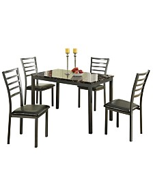 Modish Feast 5 Pieces Dining Set