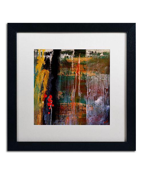 "Trademark Global Nicole Dietz 'Entitled' Matted Framed Art - 16"" x 16"""