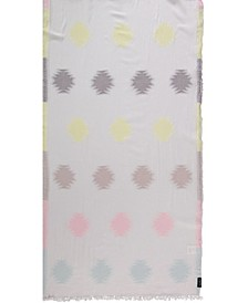 Abstract Dot Oblong Scarf