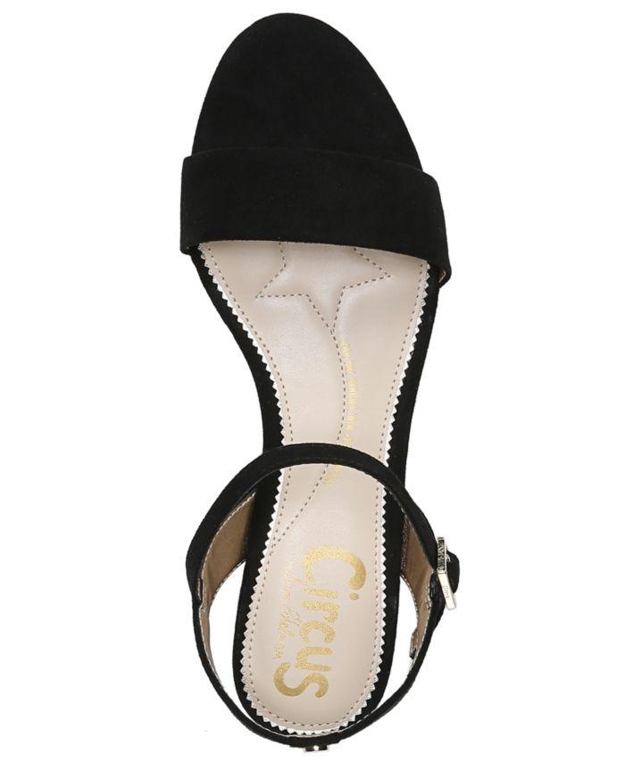 Circus by Sam Edelman Ibis Block-Heel City Sandals & Reviews - Heels & Pumps - Shoes - Macy's