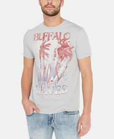 Buffalo David Bitton Men's Tarosa Logo Graphic T-Shirt