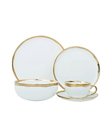 Dauville 20-PC Dinnerware Set, Service for 4