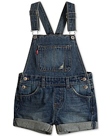 Levi's® Toddler Girls Cotton Denim Shortall