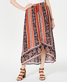 Printed High-Low Skirt, Created for Macy's