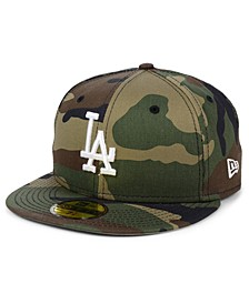 Los Angeles Dodgers Woodland Basic 59FIFTY Fitted Cap