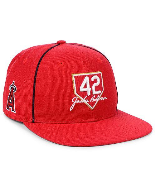 competitive price bb194 bf98b ...  47 Brand Los Angeles Angels Jackie Robinson 42 Team Snapback Cap    ...