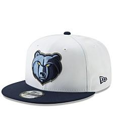 New Era Memphis Grizzlies White XLT 9FIFTY Cap
